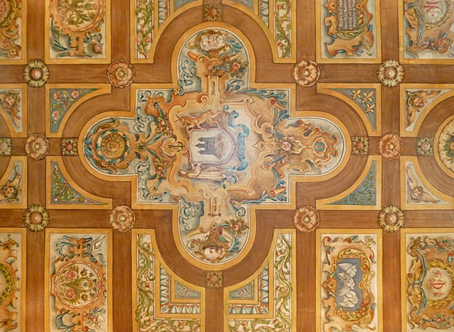 Painted Ceiling, Riddle's Court (2)