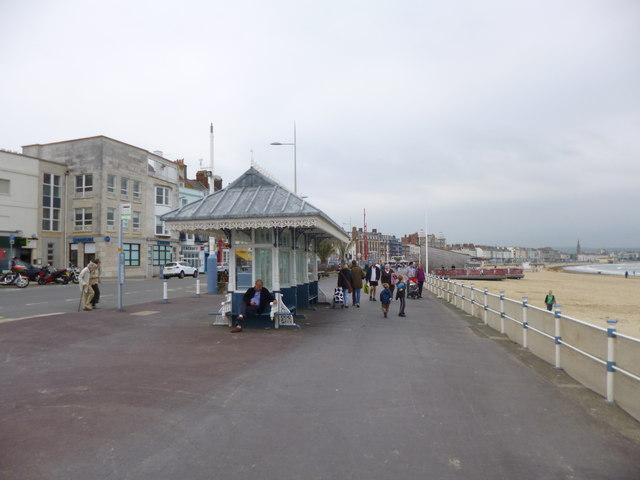Weymouth, seaside shelter