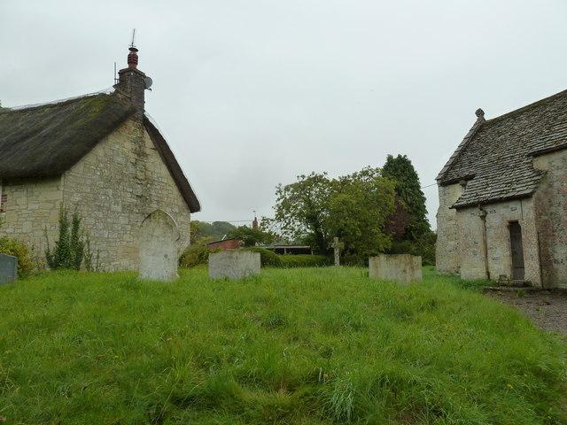 St Margaret, Knook: churchyard