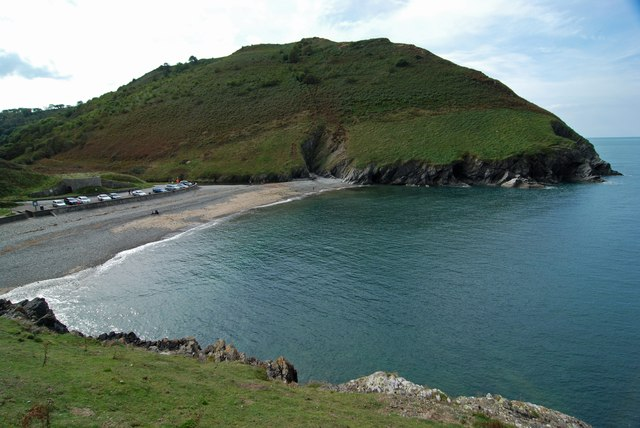 The headland at Cwmtydu