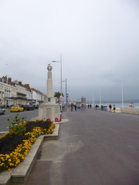 Weymouth, war memorial