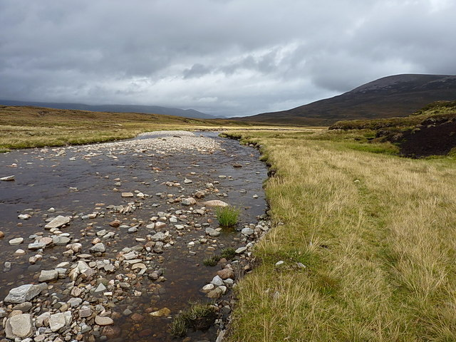 Downstream on the Feshie