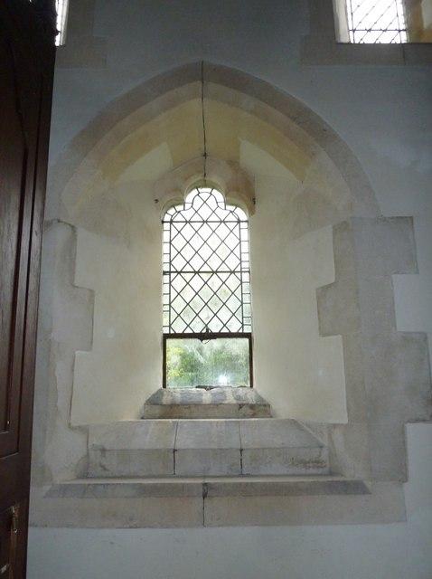 Inside St Margaret, Knook (a)
