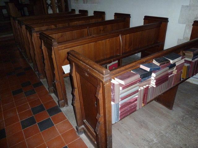 Inside St Margaret, Knook (c)