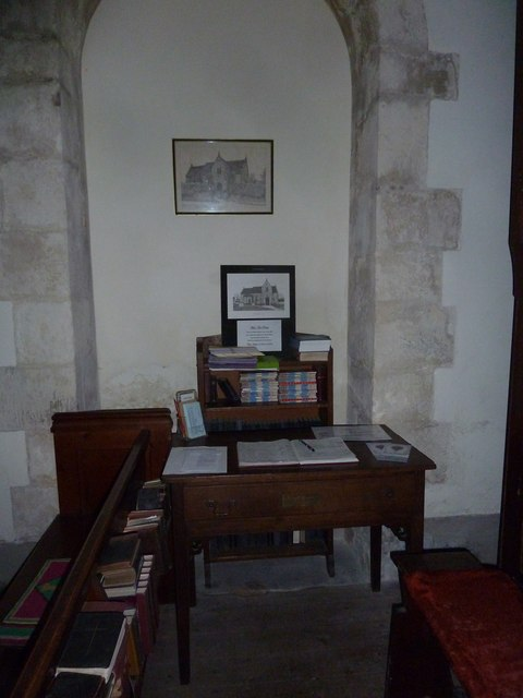 Inside St Margaret, Knook (d)