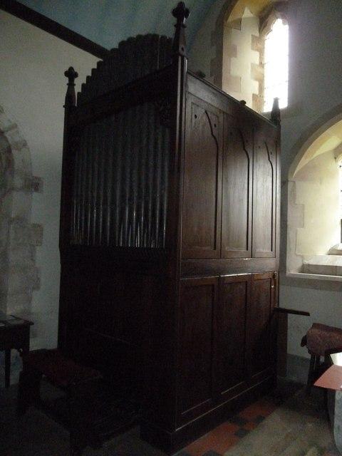 Inside St Margaret, Knook (e)