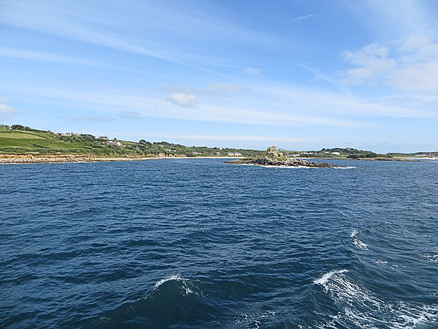 Taylor's Island and Porthloo from the Scillonian