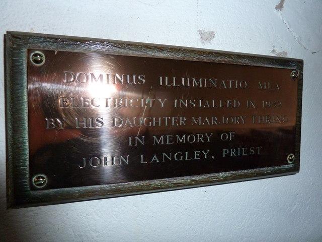 St James, Tytherington: LET THERE BE LIGHT! (V)