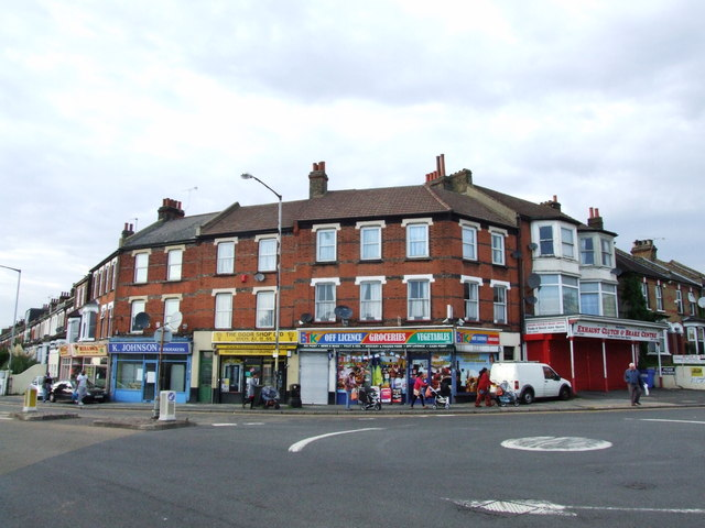 Shopping Parade, Old Road West, Gravesend