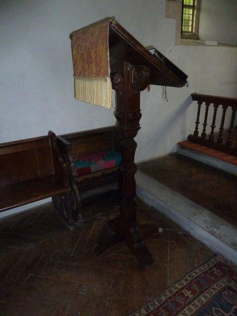 St James, Tytherington: lectern