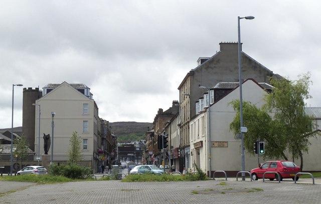 West Blackhall Street, Greenock