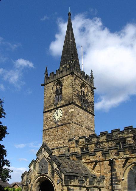 Wath-Upon-Dearne - St James Church spire