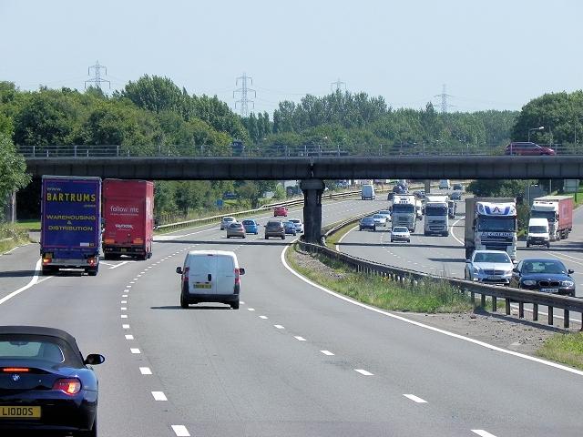 M6, Highfield Lane Bridge