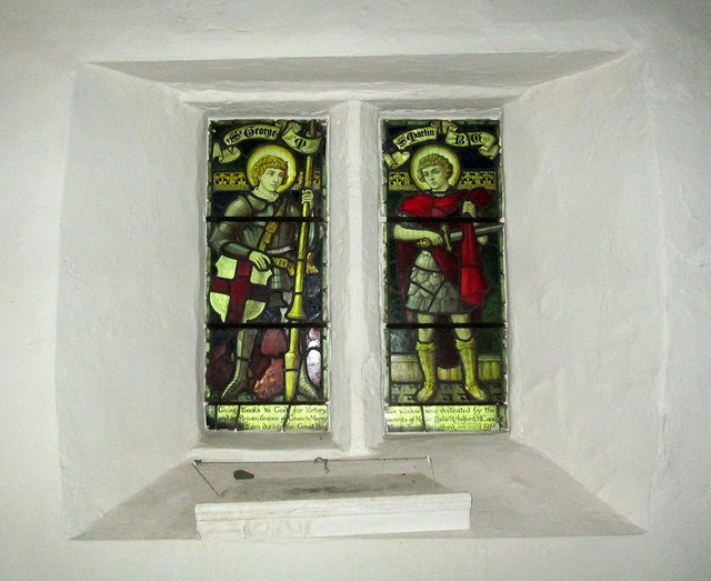 Edwalton: Holy Rood - thanksgiving window