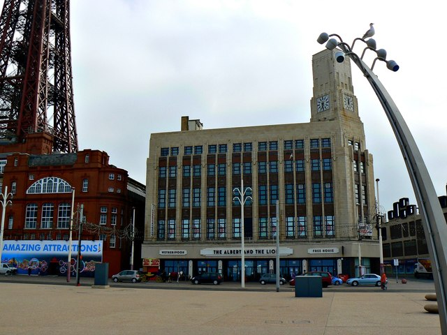 The Albert and the Lion, The Promenade, Blackpool