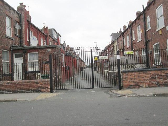 Back Nowell Terrace - Nowell Street