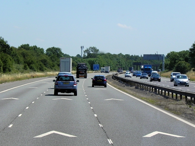 M6 Motorway near Stretton Under Fosse