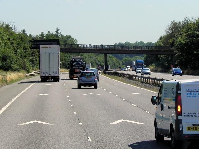 M6 Motorway, Fosse Way Bridge