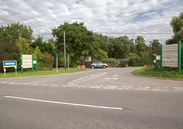 Kingsbury Water Park, Broomey Croft Entrance