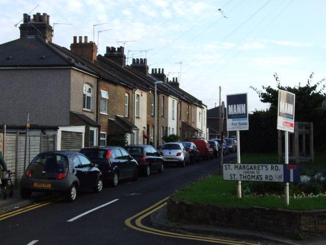 St. Margaret's Road, Northfleet