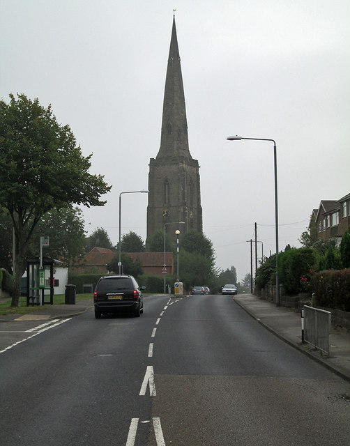 Gedling: All Hallows' spire