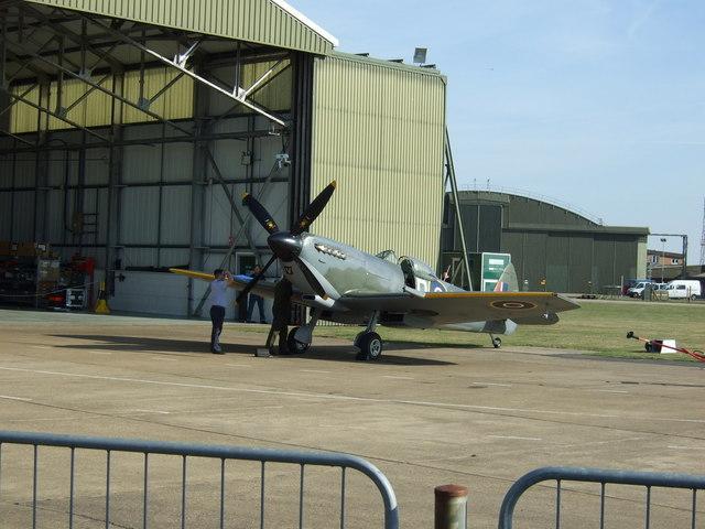 The Battle of Britain Memorial Flight (BBMF)