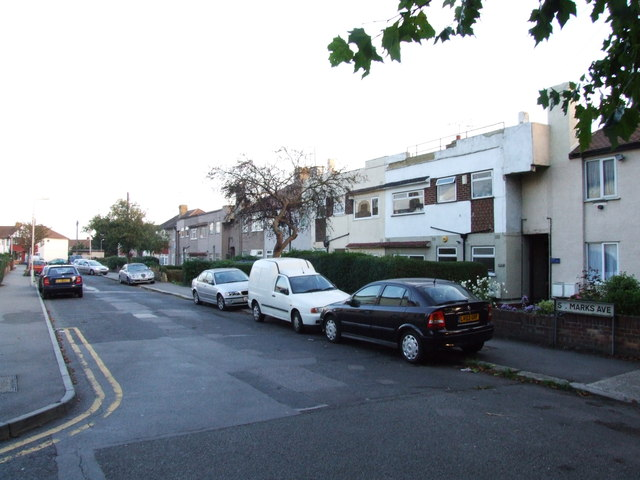 St. Mark's Avenue, Northfleet