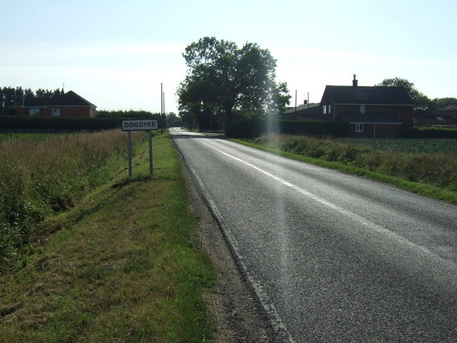 Entering Dogdyke