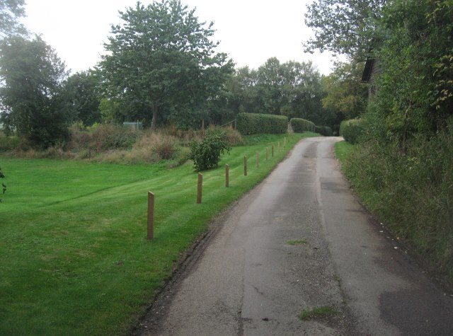 Lane to Balstone Farm
