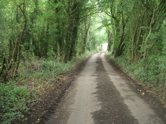 Lane to Balstone Farm