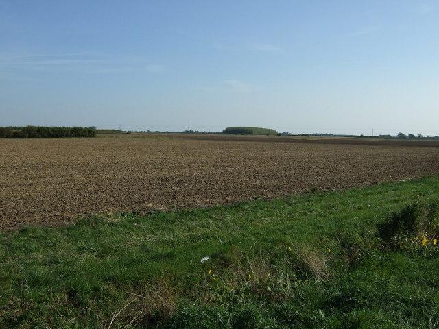 Farmland near Hawthorn Hill