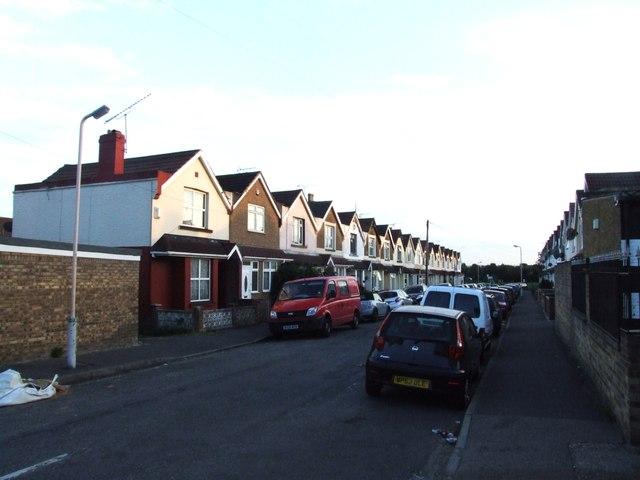 Burnaby Road, Northfleet