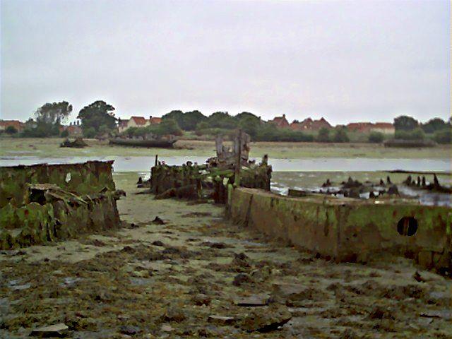 Wooden Pinnace, landing craft and barge, 2005