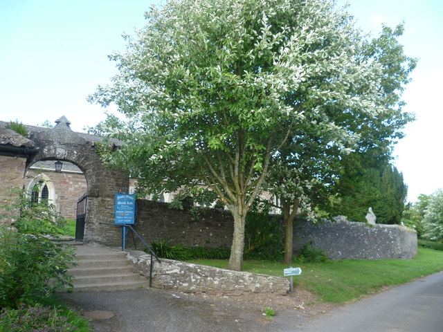 Entrance to St. Bean's Church