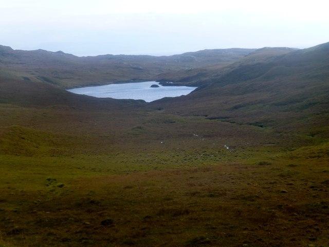 Moorland View Towards Loch Ruadh