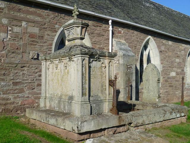 Tomb in St. Bean's Kirkyard