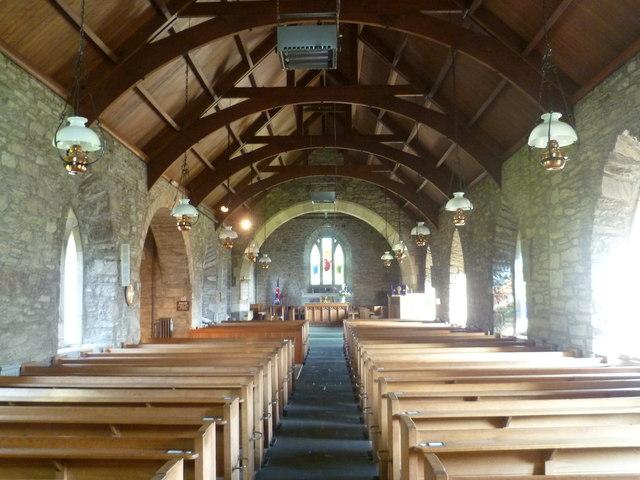 Interior of St, Bean's Church