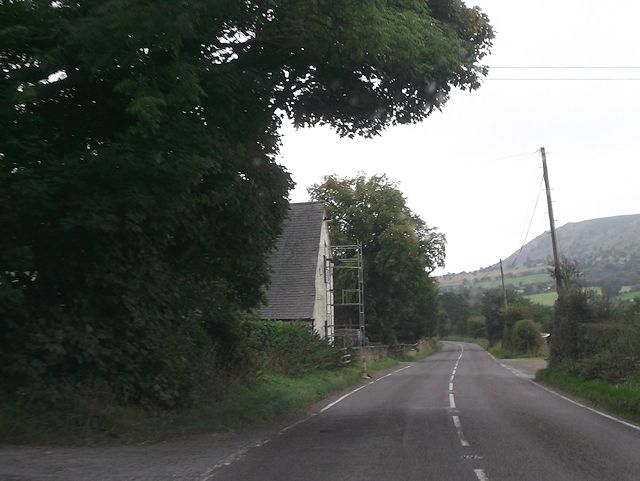 House on A488 south of Foxhill Farm