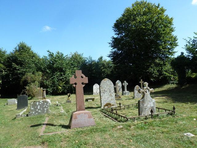 St Andrew, Todber: gravestones