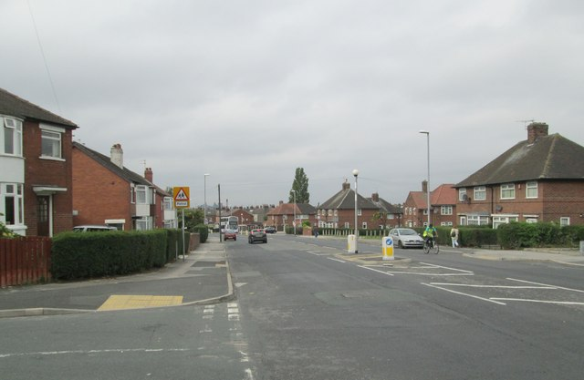 Foundry Approach - viewed from Harehills Park Terrace