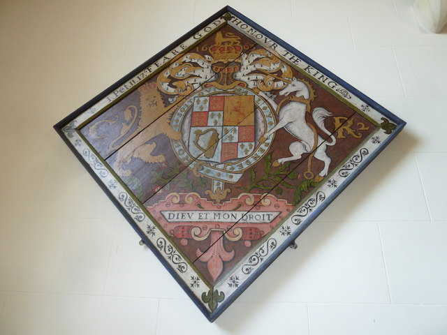 St Andrew, Todber: hatchment