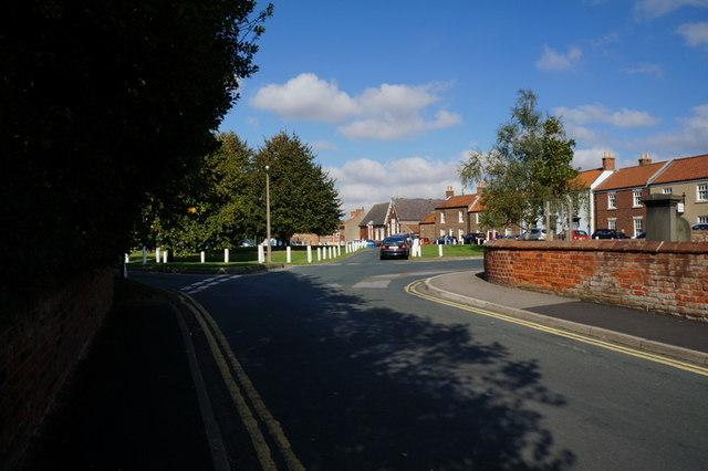 Church Lane towards Market Hill, Hedon