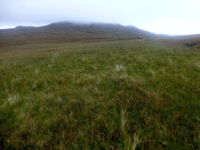 Moorland View Towards Ruadh Chleit