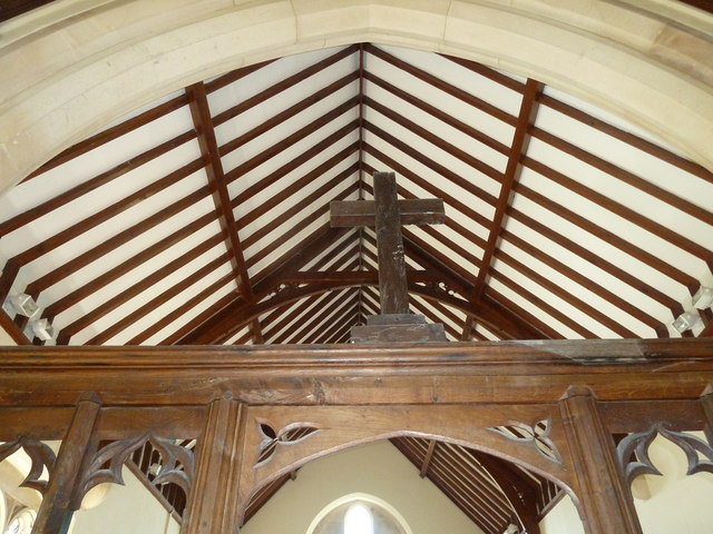 St Andrew, Todber: Rood Cross