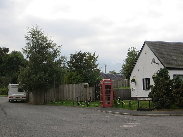 Telephone box, Ashkirk