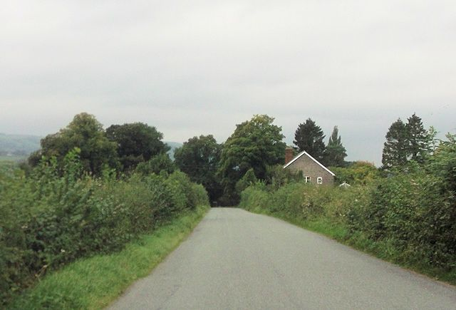 House at end of Llanerch road at Broadway