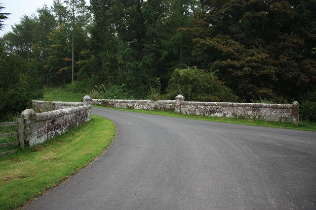 Bridge over North Petterill at Garth Wood Greystoke Estate