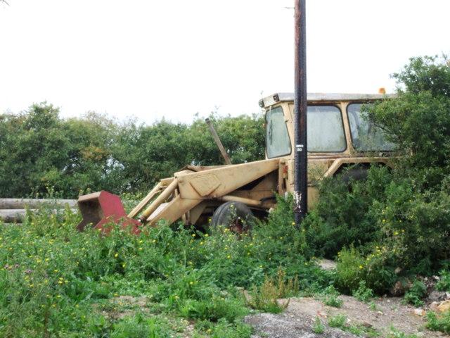 Abandoned JCB, Hollowshore