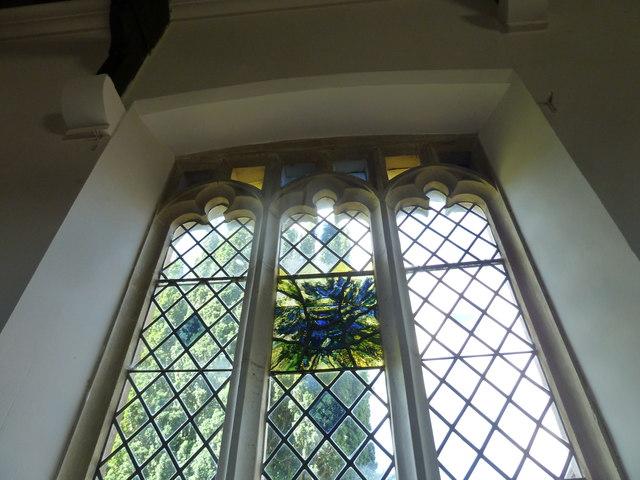 St. Peter, Hinton St. Mary: Millennium window (II)