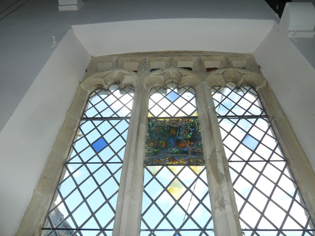 St. Peter, Hinton St. Mary: Millennium window (III)